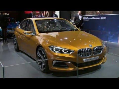The BMW Concept Compact Sedan at 2016 Beijing Auto Show | AutoMotoTV