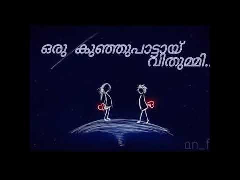 Malayalam super song kanneer poovinte kavilil thalodi. Lyrics