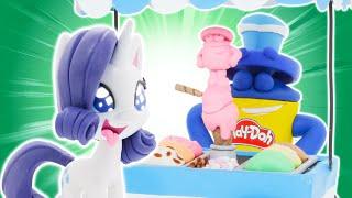 Play Doh Videos | Magical Ice-Cream Adventure 🍦 MLP | Play-Doh Show Season 2 | Play-Doh Official