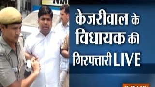 AAP MLA Dinesh Mohaniya Arrested in the Middle of Press Conference