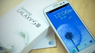 Unboxing: Samsung Galaxy S III for AT&T