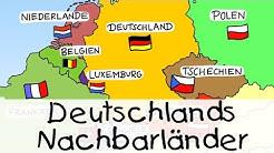 Deutschlands Nachbarländer | Kinderlieder zum Lernen