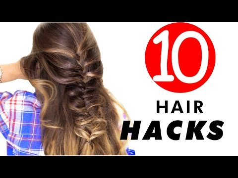 10-★-everyday-hair-hacks-&-hairstyles-every-girl-should-know!-life-beauty-tips- -makeupwearables