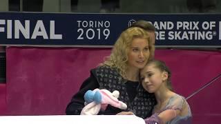 Фигурное катание Финал Гран при 2019 среди юниоров Девушки Произвольная программа Камилы Валиевой