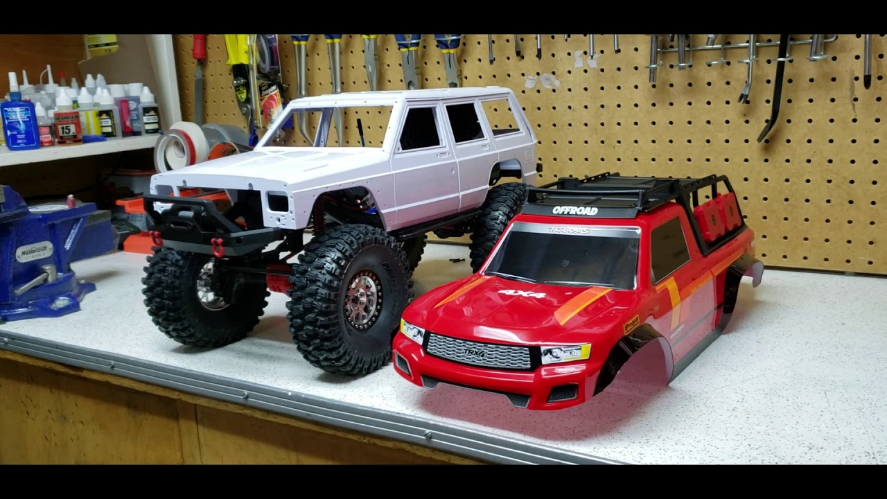 Traxxas trx4 Sport with Long Arm lift Kit installed part 4 (Possible body  option)