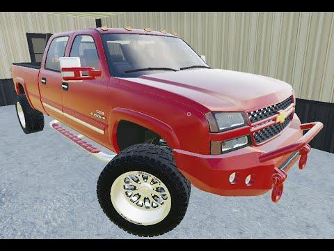 #FarmingSimulator19 #FS19   2006 Chevy Silverado 2500 HD ...