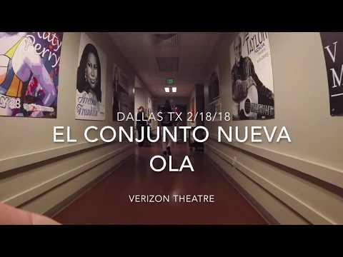 ECNO - El Conjunto Nueva Ola live in Dallas Feb 18 Verizon Theater