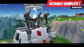 GETAWAY LTM | The Best Way to Board the Escape Van! (Fortnite Battle Royale)