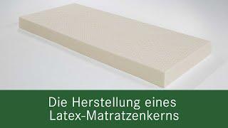 Herstellung von Latexkernen