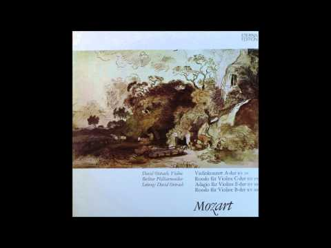 Mozart, Violin Concerto No 5, KV 219, Oistrakh, Violin