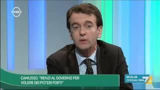 Omnibus - D'Attorre: Renzi alza la voce in Italia ma non in Europa