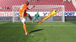 freekickerz vs Dirk Nowitzki - Penalty Football Challenge vs Pro Keeper