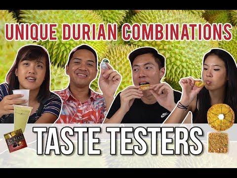 UNIQUE DURIAN COMBINATIONS | Taste Testers | EP 56