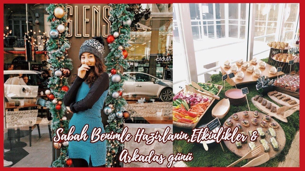 #YeniYılSon16: Sabah Benimle Hazırlanın,Etkinlikler &****p; Arkadaş günü| Vlog