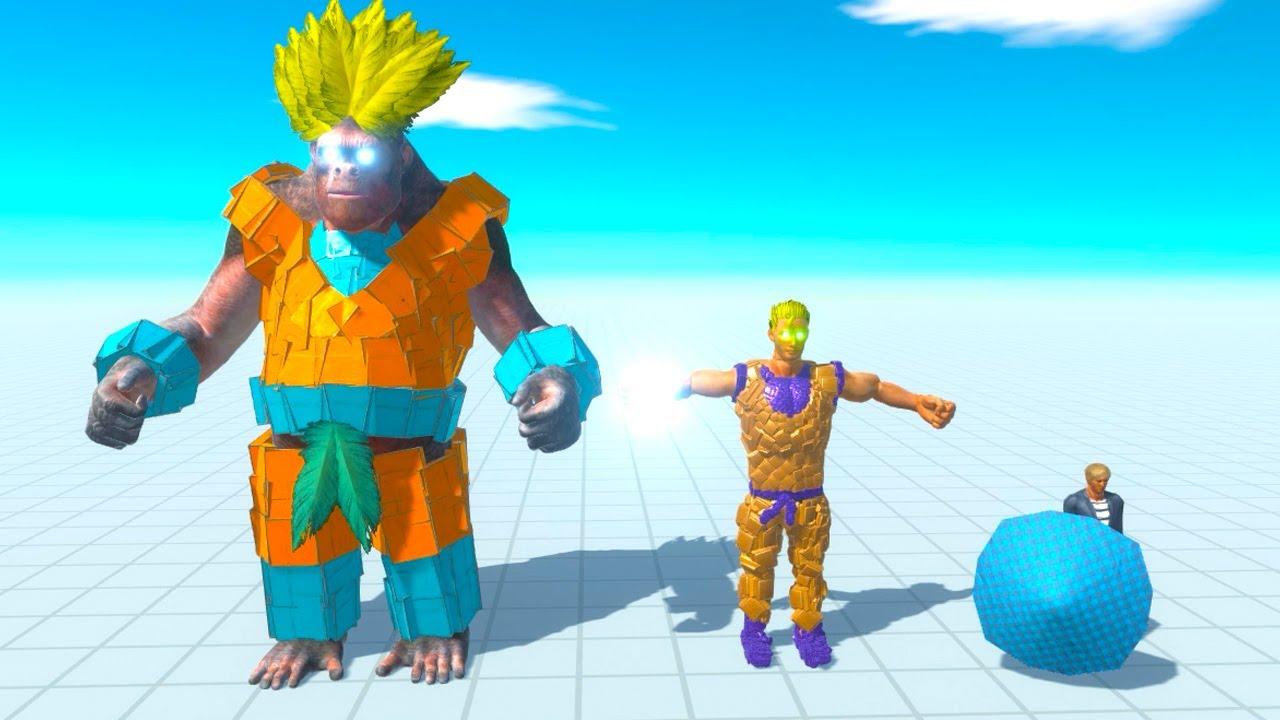 Goku The Giant of The Revolution - Animal Battle Revolt Simulator