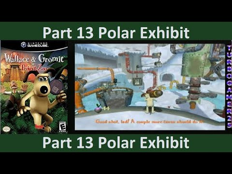 Wallace and Gromit in Project Zoo part 13 Polar Exhibit