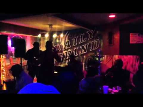 Jazz night at the daily grind in Nassau Bahamas
