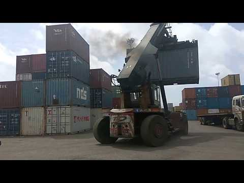 Container Cargo Movement & Handling At CFS Station At Mundra