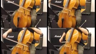 星の在り処をチェロ四重奏で演奏してみた。