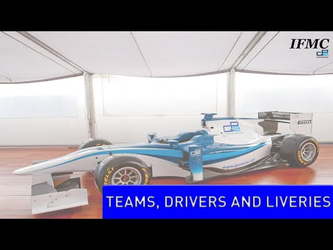 IFMC GP2 Series   Grand Prix 3   S1   Teams, Drivers and Livery launches