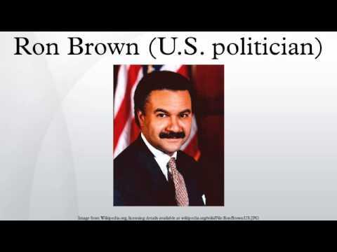Ron Brown (U.S. politician)