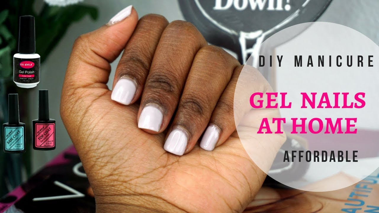 Affordable DIY Gel Nails At Home Using CLAVUZ Gel Products ...