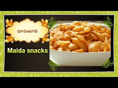 Maa Vantagadi Telugu Recipes | Episode – 566 | Maida snacks Preparation