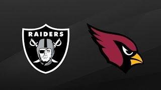 Raiders vs Cardinals NFL Preseason First Half Highlights | NFL Highlights