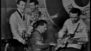 "Gene Vincent at "" Town Hall Party"" She she little Sheila"