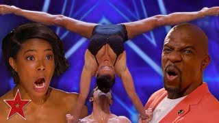FLIRTY Acrobatic Dancers SHOCK The Audience On America's Got Talent