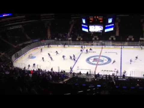 New York Rangers view from section 212 Barstool seats YouTube