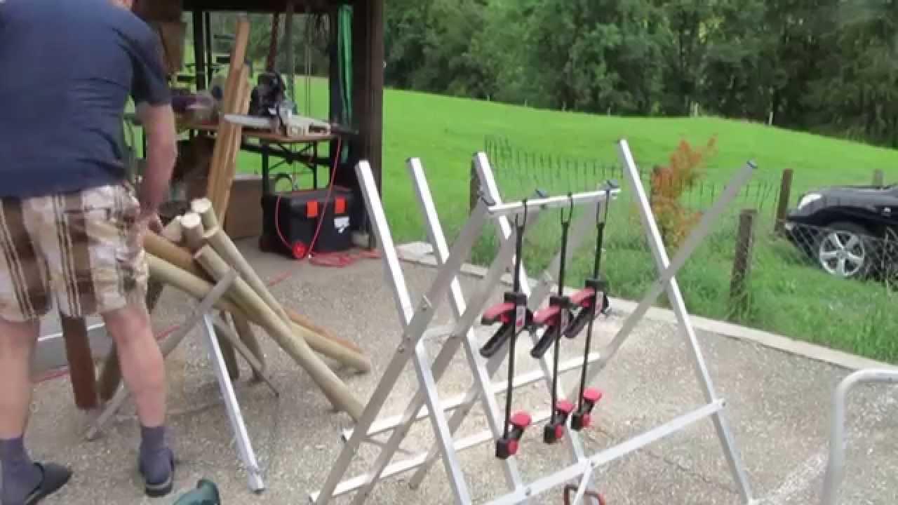 Pfahl Spitzer Fur Rund Holz Pfahle Anspitzen Mit Bohrmaschine D 5