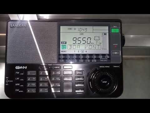 9550 KHz Super Rede Boa Vontade de Rádio - Porto Alegre RS Brasil