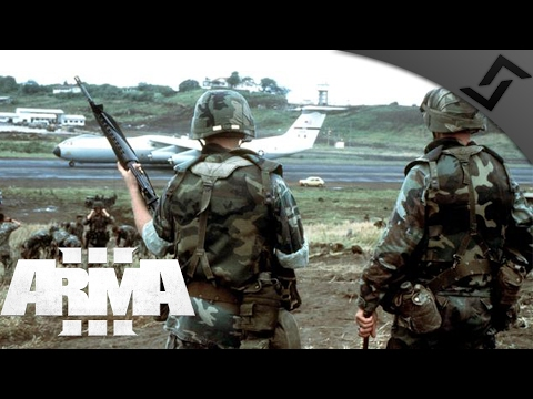 US 1980's Anti Drug Operation - ARMA 3 - Squadleading in the Night
