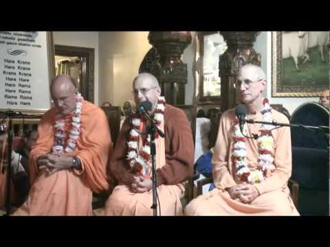 Lecture - Evening Conversation with Indradyumna Swami, Giriraj Swami, and Guru-prasad Swami