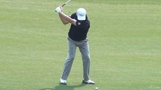 [Slow HD] Paul LAWRIE 2013 Wood golf swing (2)_European Tour