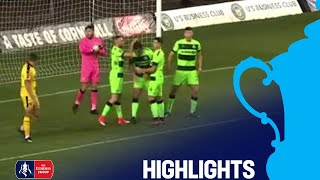 Oxford United 0-0 Forest Green Rovers   Round 1   Emirates FA Cup 2018/19