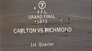 FULL GAME: 1973 VFL Grand Final Richmond v Carlton