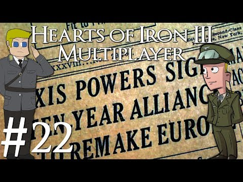 Hearts of Iron 3 | Blacker Ice Multiplayer | Italy | Part 22