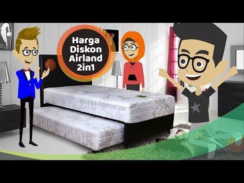 Lebih Hemat. Harga Diskon Springbed Anak Airland 2in1 - Galleria Furniture Bandung
