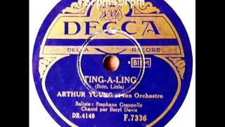 Ting a Ling   Arthur Young, Stephane Grappelly mit Beryl Davis