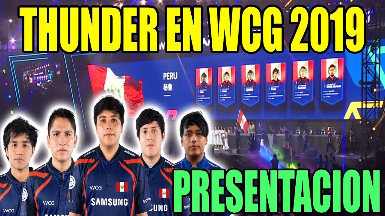PRESENTACION DE EQUIPOS WCG 2019 | THUNDER PREDATOR - DOTAPARTY