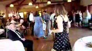 Super-Enthusiastic Wedding Disc Jockey Does The Twist
