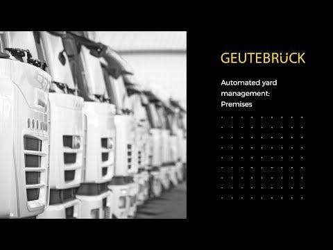 Geutebruck Automated Yard Management Premises