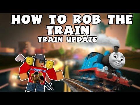 [Roblox] Jailbreak: HOW TO ROB THE TRAIN (Train update)