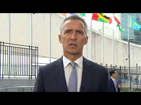 NATO Secretary General Jens Stoltenberg on Trump at UN