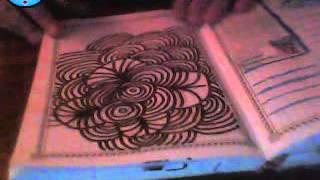 кругововой дудлинг рисуем с татьяной забродской