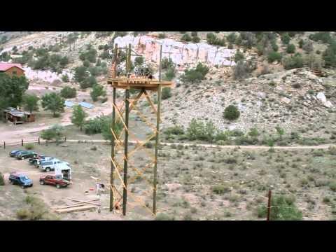 Royal Gorge Zipline Tours - West of Canon City Colorado near the Royal Gorge Bridge