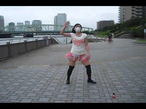 【さやか】「リリリリ★バーニングナイト」踊ってみた【外で撮影】