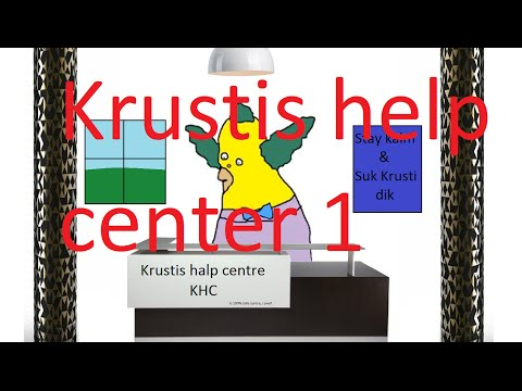 Krustis help center